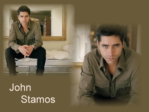 John Stamos वॉलपेपर containing a well dressed person, a business suit, and an outerwear called John Stamos