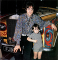 John and Julian - john-lennon photo