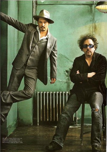 Johnny Depp and Tim Burton - tim-burton Photo