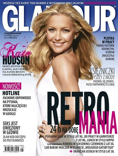Kate Hudson for Glamour Poland Cover May 2012