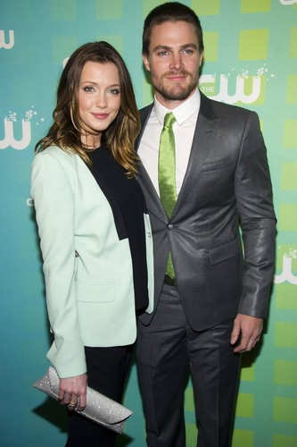 Katie and Stephen at CW Upfront 2012