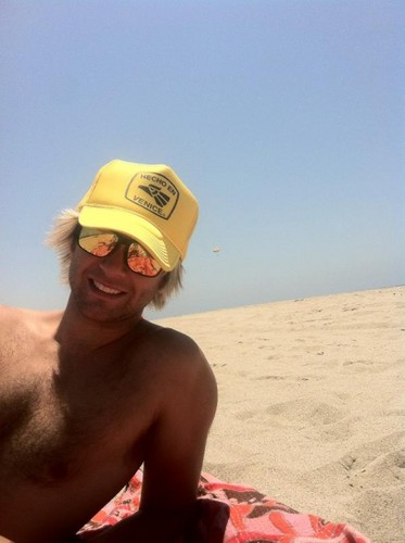 Keith chillin' in Cali