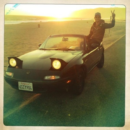 Keith crusin' in Cali - keith-harkin Photo