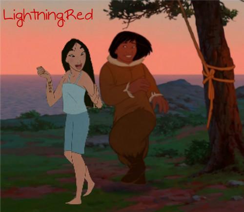 Kenai and Mulan - One of My favori Crossover Couples