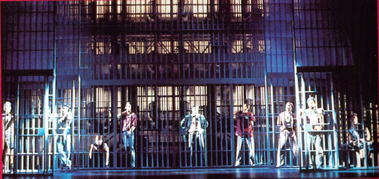 Kiss of the Spider Woman Musical Set Design