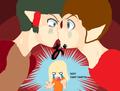 Kisshu and Taruto KISS!?
