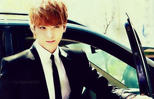 EXO-M Leader Wu Fan also known as KrisExo Kris Sleeveless
