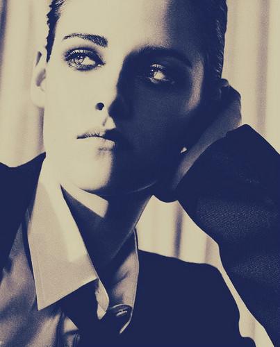Kristen in Elle US Outtake