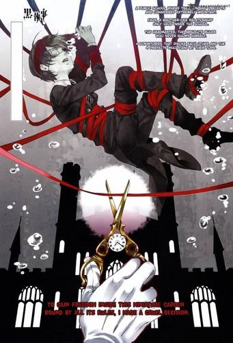 Kuroshitsuji chapter 69 cover