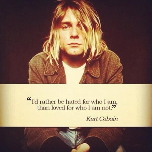 Music wallpaper called Kurt Cobain <3