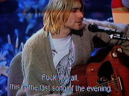 Kurt Cobain :))