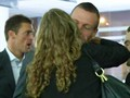 Kvitova and Berdych kiss 2012 - tennis wallpaper