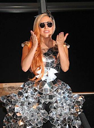 Lady Gaga at the Tokyo Sky boom
