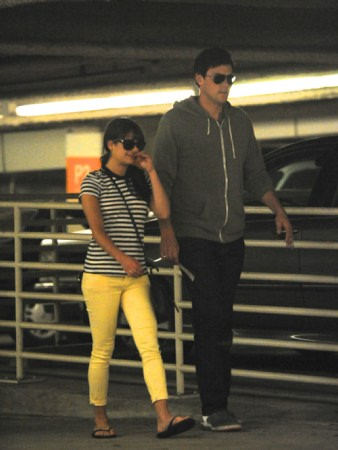 Cory Monteith wallpaper called Lea & Cory Shopping at Barney's New York in Beverly Hills - May 11, 2012