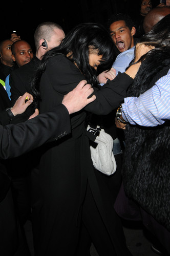 Leaving DSTRKT Nightclub In London [19 May 2012] - rihanna Photo