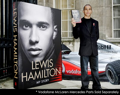 Lewis Hamilton Book Launch