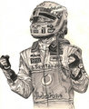 Lewis Hamilton Drawings