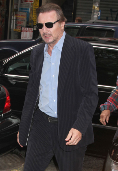 """Liam Neeson Visits The """"Today"""" 显示"""