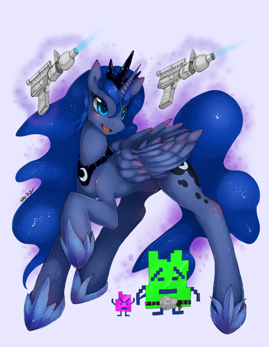 Luna~ - my-little-pony-friendship-is-magic Photo