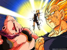 Majin Vegeta vs Majin Buu - dragon-ball-z Photo