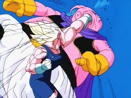 Dragon Ball Z Fond Decran Containing Anime Called Majin Vegeta Vs Buu