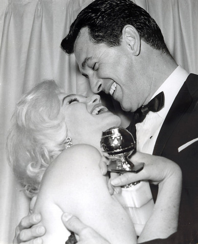 Marilyn Monroe and Rock Hudson
