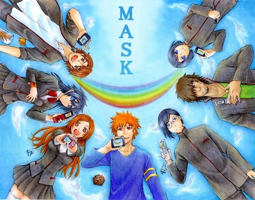 Mask ending pic - bleach-anime Fan Art