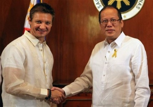 Meeting with President Aquino