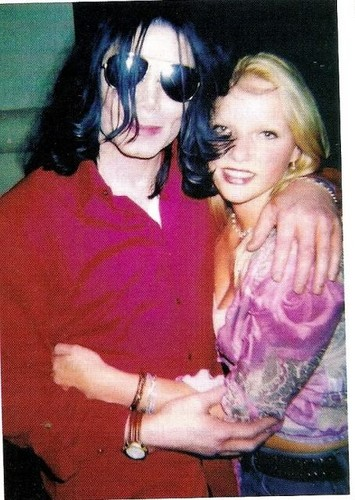Michael Jackson and Joanna Thomae