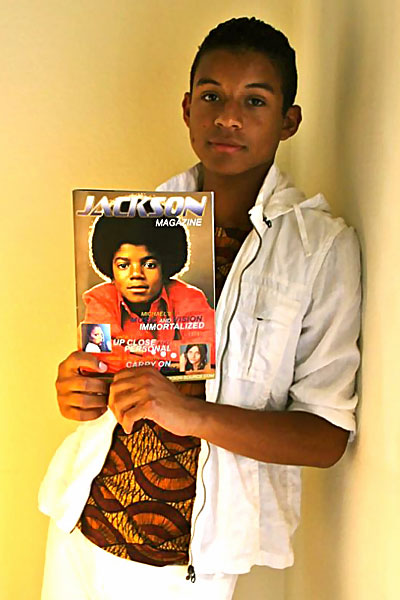 Michael Jackson's nephew Jaafar Jackson looks like young Michael