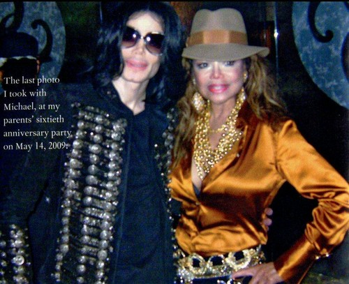 Michael Jackson with his Sister Latoya Jackson