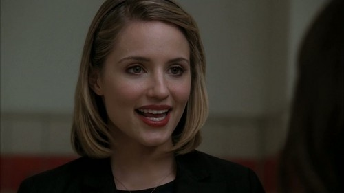 Quinn Fabray wallpaper with a portrait titled Michael