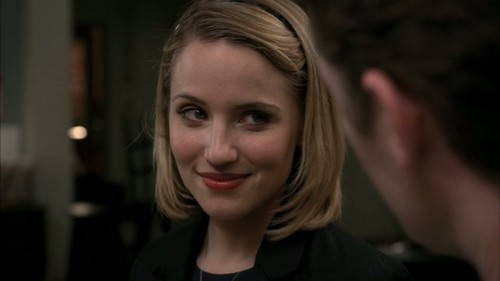 Quinn Fabray wallpaper containing a portrait titled Michael