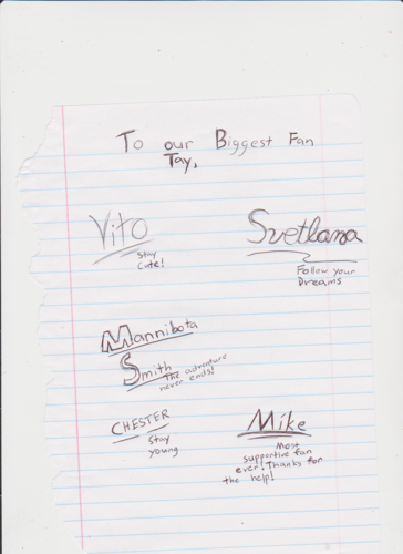 Mike's Personality signatures