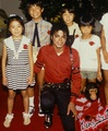 Mikey is so adorable with children and pets - michael-jacksons-hope-for-the-world photo