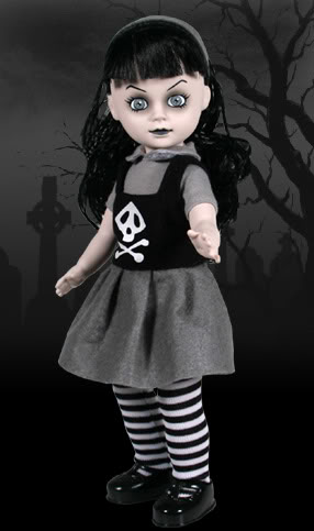Living Dead Dolls achtergrond with an outerwear entitled Mildread -series 10
