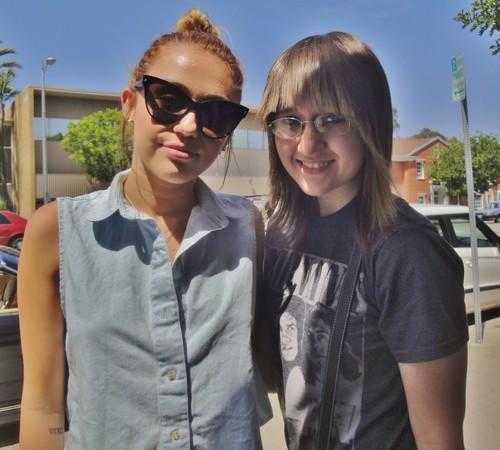 Miley & fan