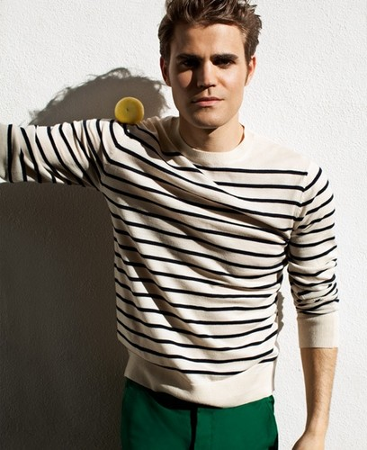 Mr Porter - The Look: Mr Paul Wesley - the-vampire-diaries-tv-show Photo