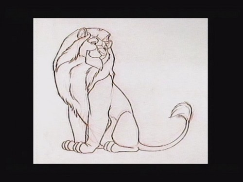 Mufasa art script