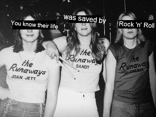 rock music saved our lives
