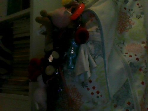 My Backpack = Over 30 Keychains!!