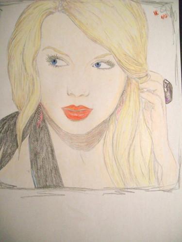My Taylor rápido, swift drawing 4<3