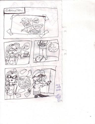 My comic page 1