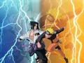 Naruto vs Sasuke..........Victoror Unknown.... - naruto-shippuuden wallpaper