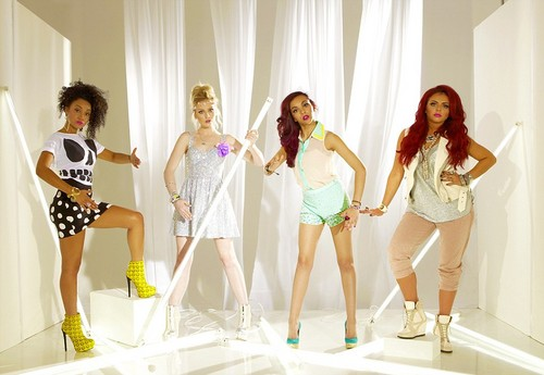 New Little Mix photoshoot for 'Heat' magazine, June 2012.