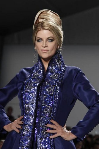 Kirstie Alley wallpaper called New York Fashion Week Spring Summer 2012