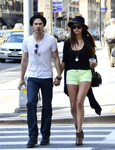 Nian MAY 13TH - ian-somerhalder-and-nina-dobrev Photo