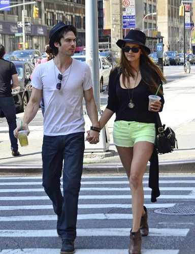 Nian  - ian-somerhalder-and-nina-dobrev Photo