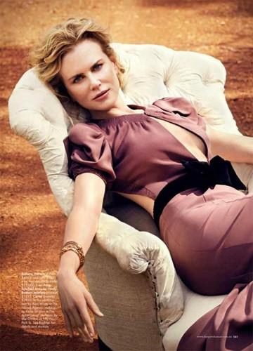 Nicole Kidman - Harper's Bazaar Australia photoshoot