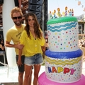 Nikki celebrating her 24th Birthday at Marquee Dayclub in Las Vegas. - nikki-reed photo
